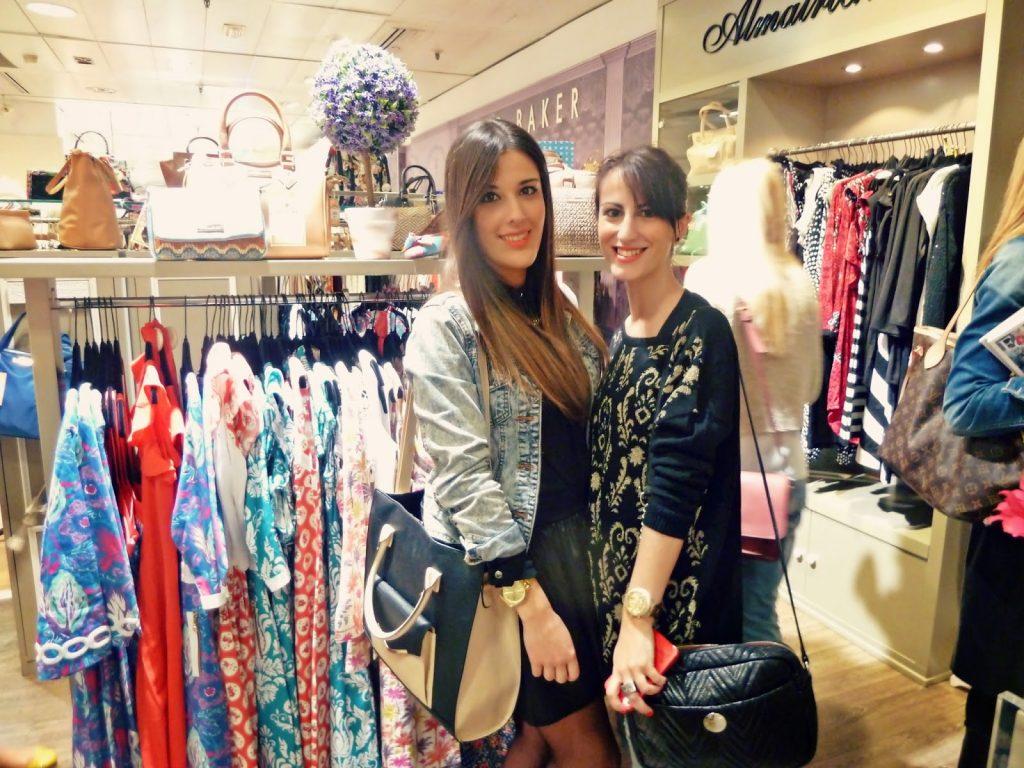 Con Carolina Linares del blog El vestidor de Karo