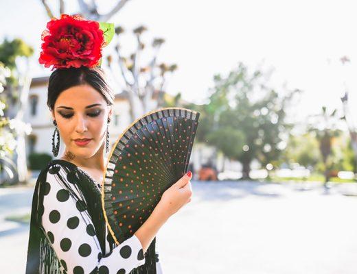 Vestido de flamenca 2016