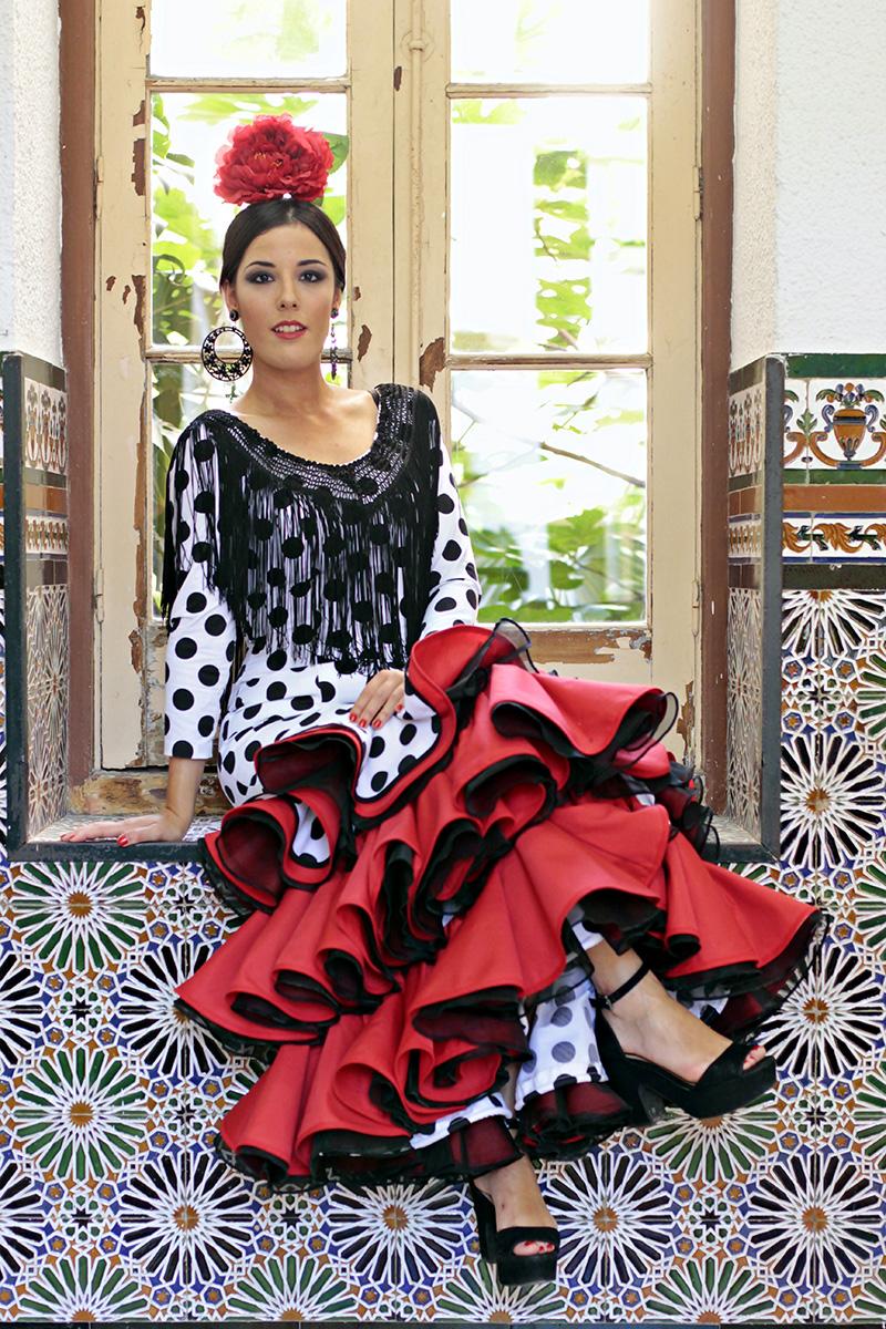 Traje-Flamenca