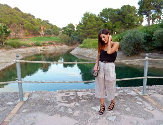 Cómo llevar pantalón culotte