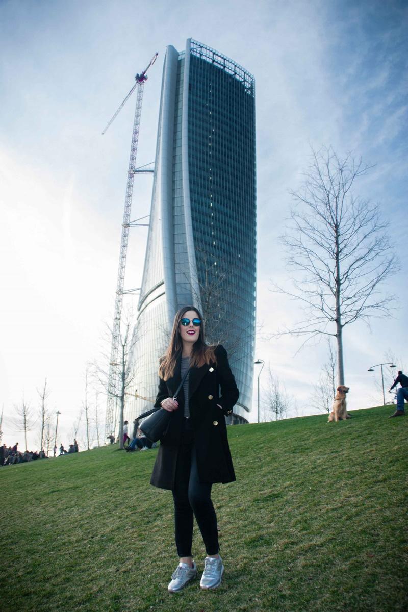 arquitectura moderna en milan
